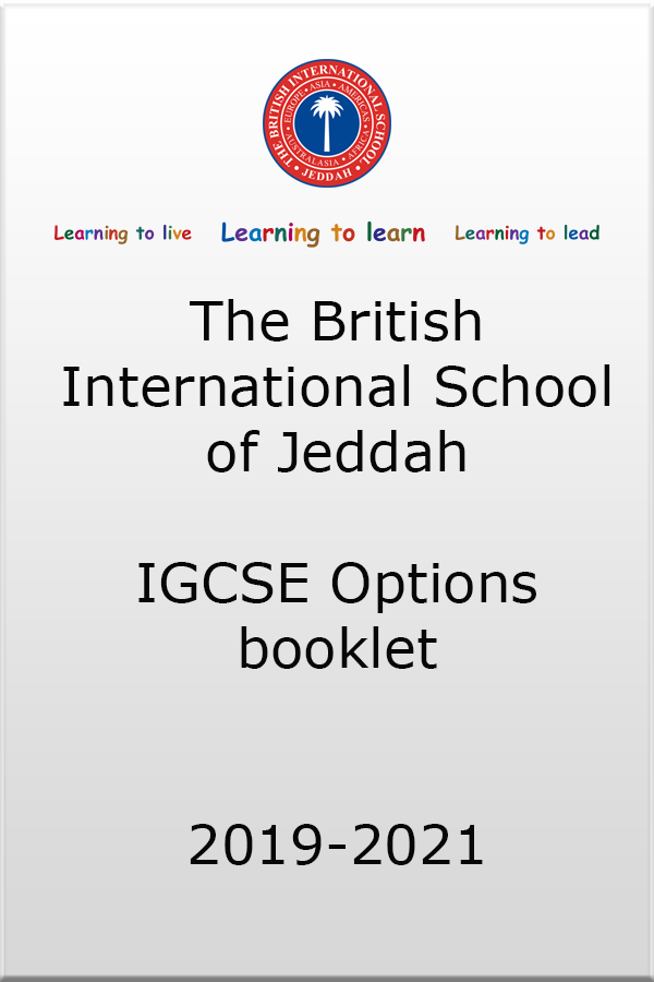 IGCSE Options Booklet thumb