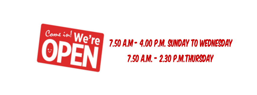1 library opening times
